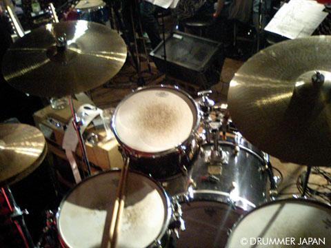 太田明 ドラムセット