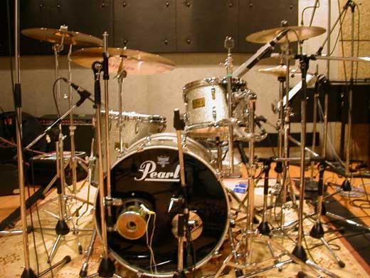 小林香織 ドラムセット