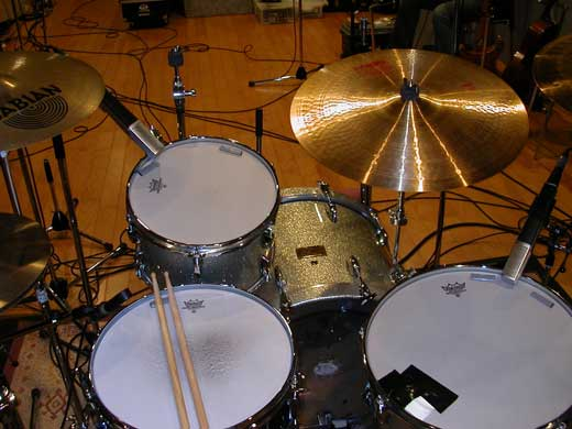 小林香織ドラムセット