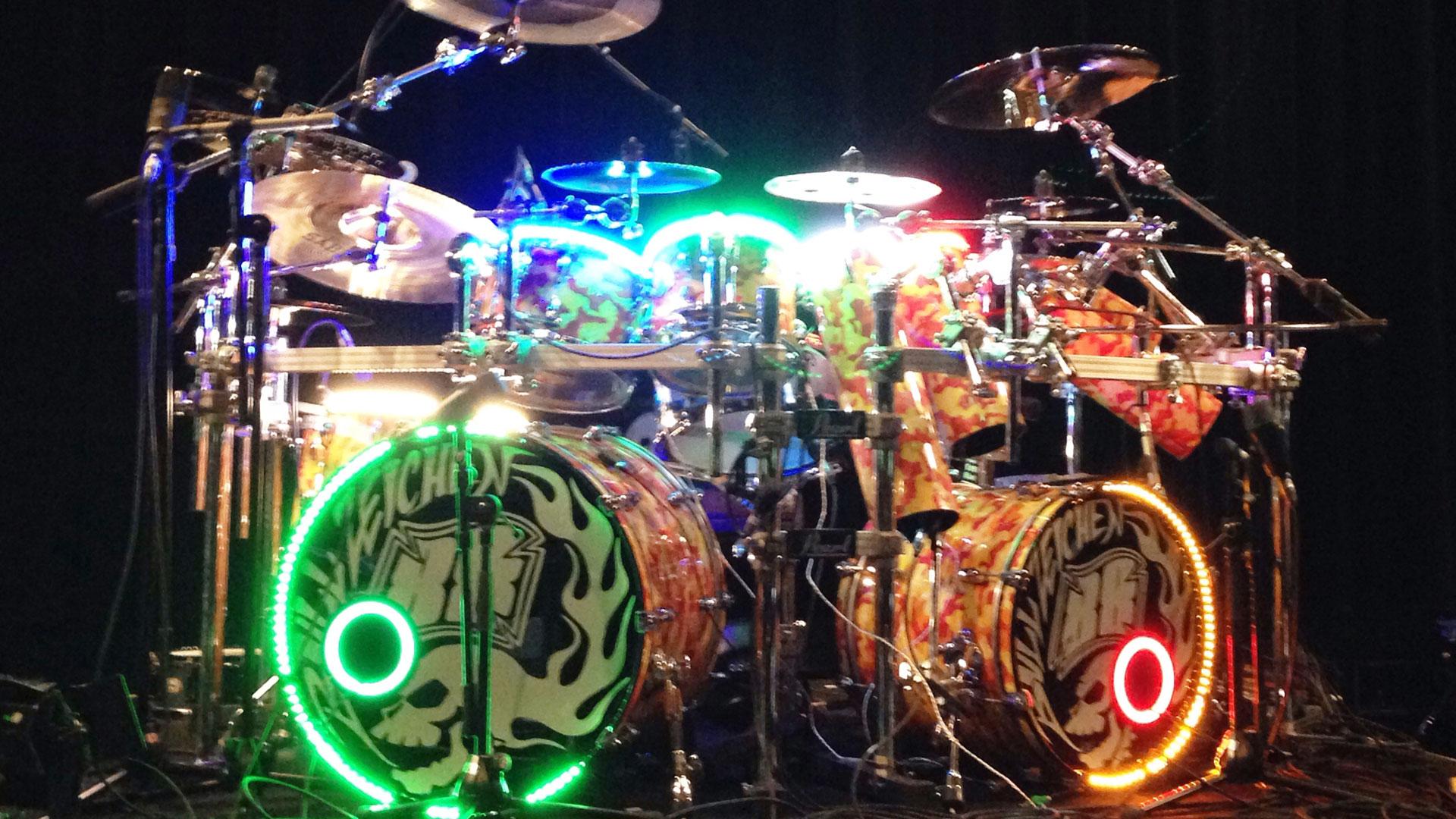 光るドラム!ドラム・ライトニング・システム7月26日発売!