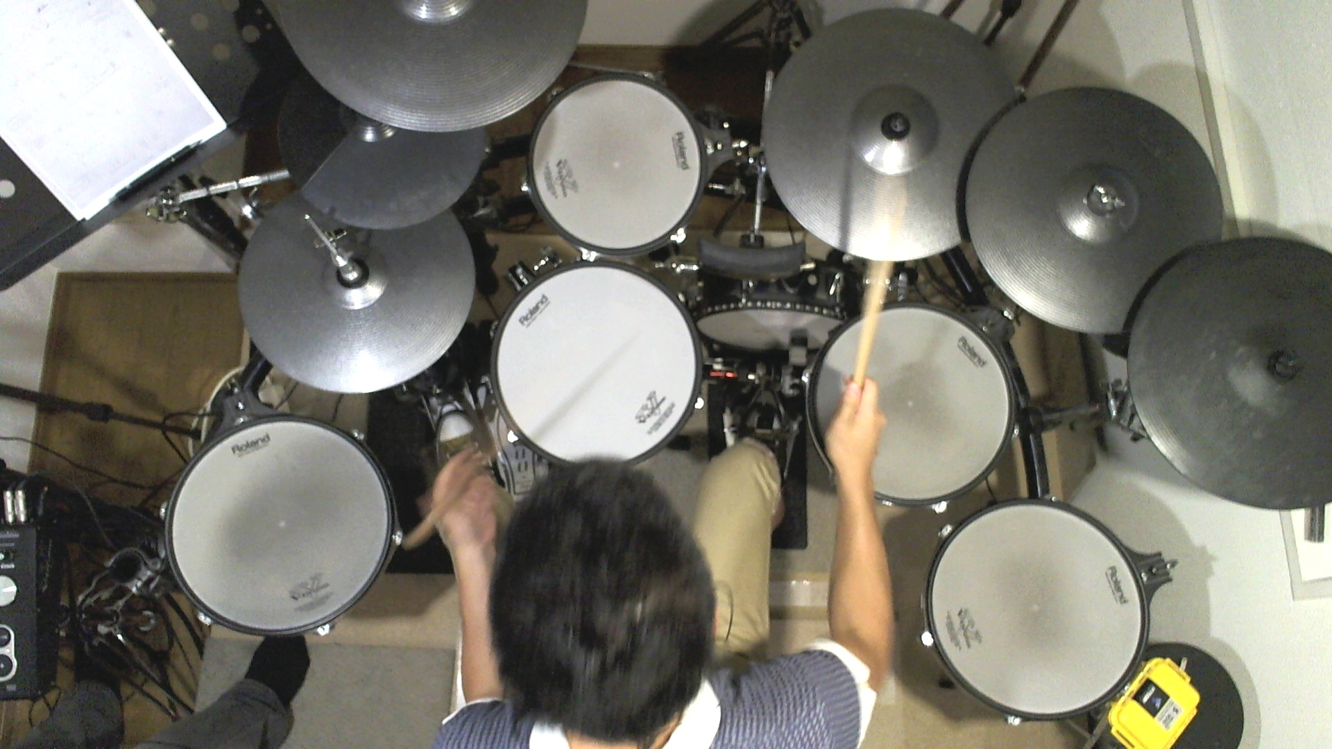 Vドラム CDレコーディング