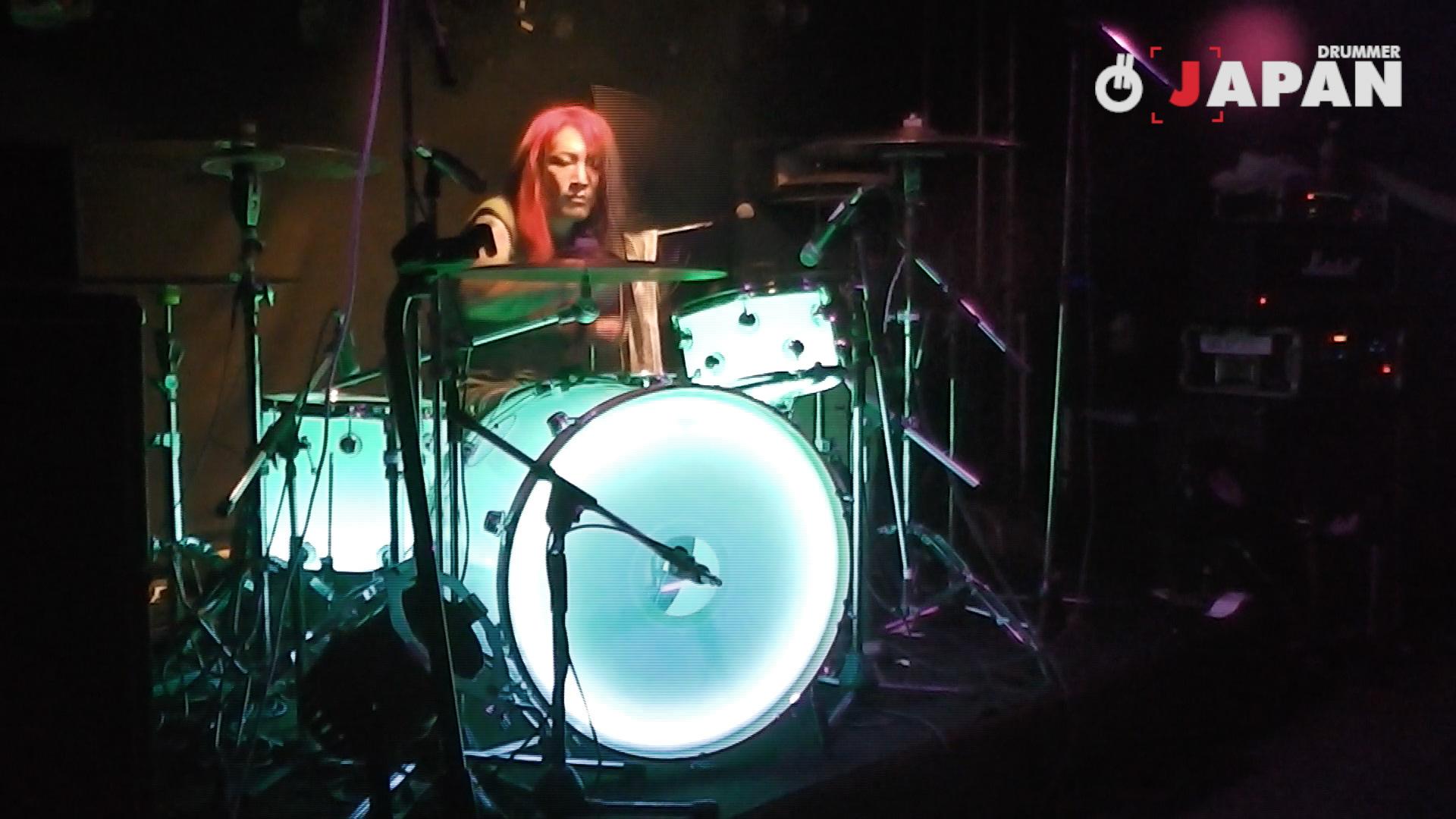 ドラムが光る!HIMAWARIさん 圧巻のドラムソロ