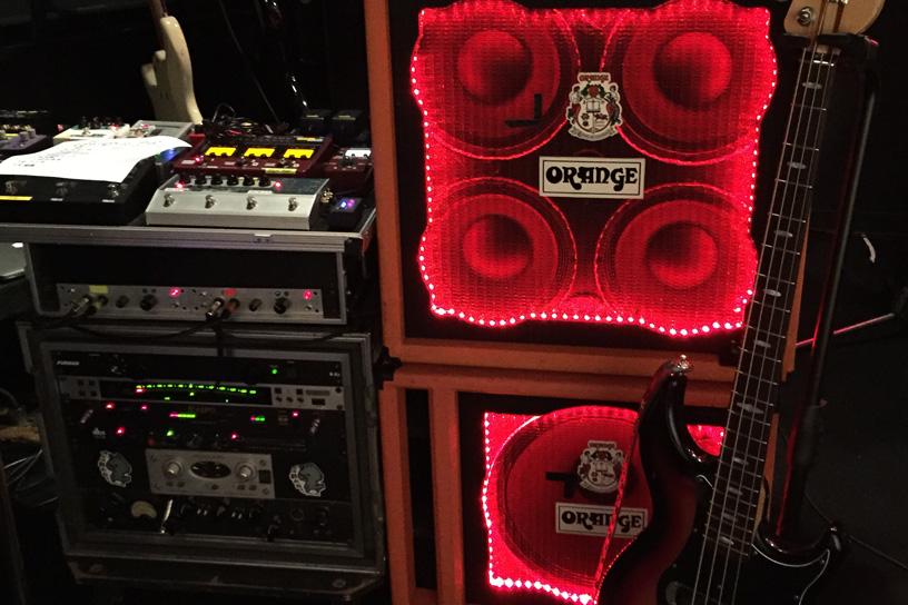 光るアンプ!ベースアンプ トリガーライト Bass Amp Trigger Lights