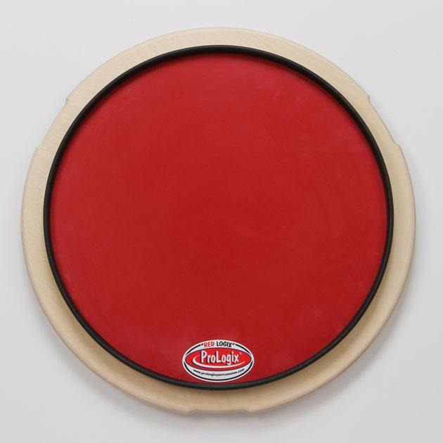 Pro Logix プロロジックス ドラム練習パッド 12″ Red Logix Pad