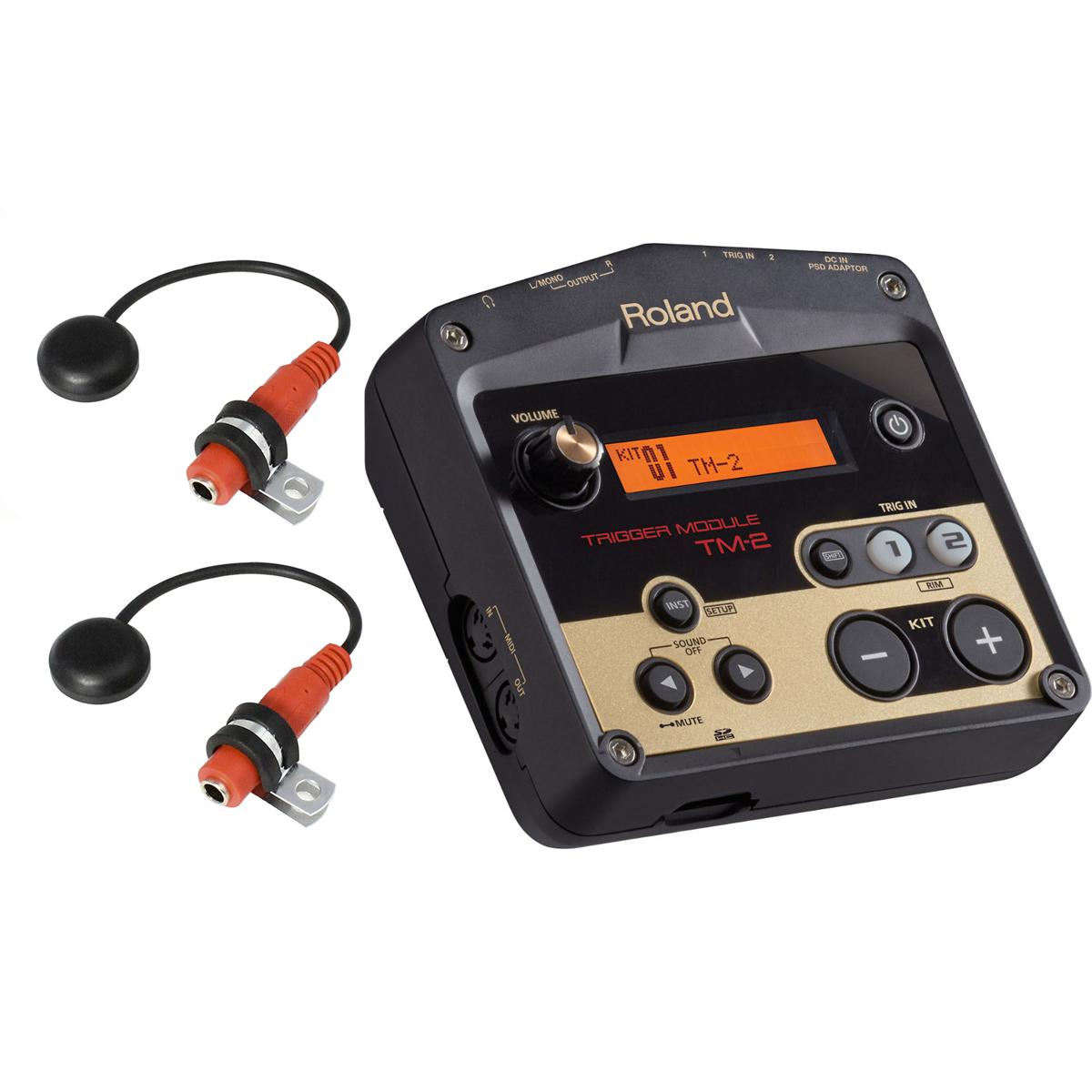 ローランド 音源モジュールRoland Trigger Module TM-2 Pintech ドラムトリガー セット