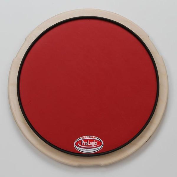 Pro Logix プロロジックス ドラム練習パッド 12″ Red Storm Pad